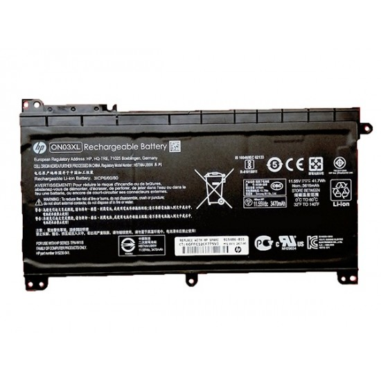 LAPTOP BATTERY FOR HP ON03XL