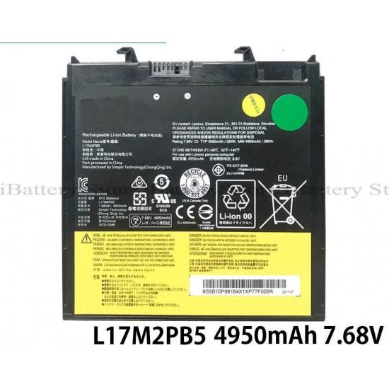 LAPTOP BATTERY FOR LENOVO L17M2PB5