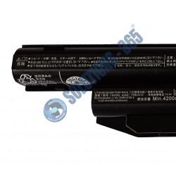 LAPTOP BATTERY FOR FPCBP416 FPCBP405 FMVNBP227 FMVNBP231 6 CELL