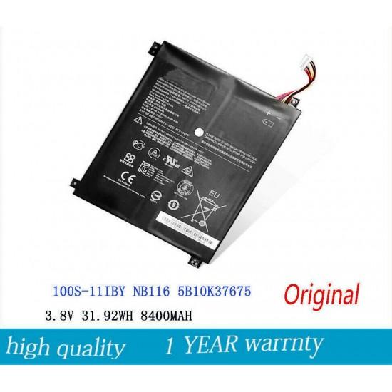 Buy Lenovo 5B10K37675 NB116 IDEAPAD 100S Laptop Battery Online