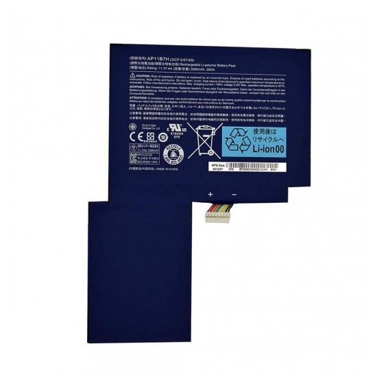 LAPTOP BATTERY FOR  ACER  AP11B7H/ W500P