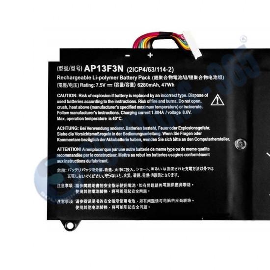LAPTOP BATTERY FOR ACER AP13F3N
