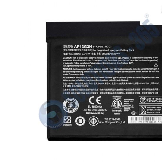 LAPTOP BATTERY FOR ACER AP13G3N/ W3 810