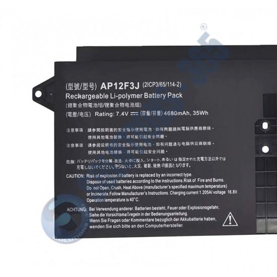 LAPTOP BATTERY FOR ACER S7 AP12F3J
