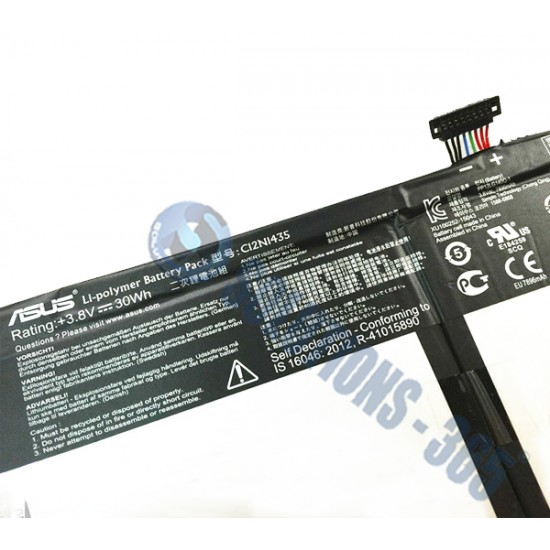 LAPTOP BATTERY FOR ASUS C12N1435