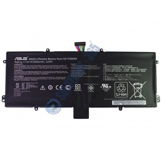 LAPTOP BATTERY FOR ASUS C21-TF201XD