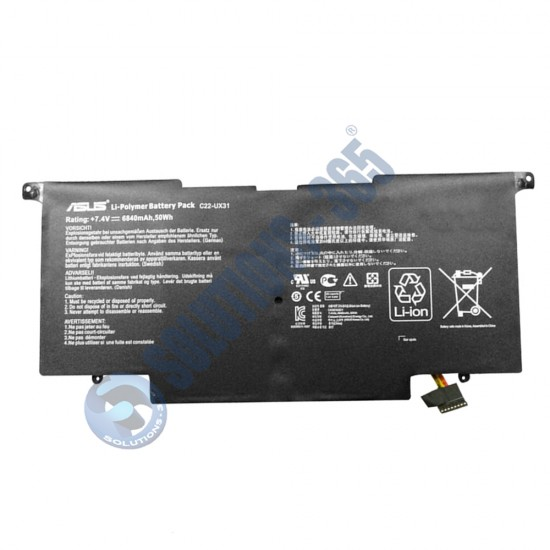 LAPTOP BATTERY FOR ASUS C22-UX31