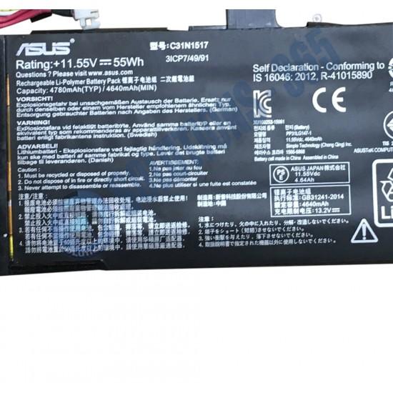 Buy Asus C31N1517 laptop Battery Online