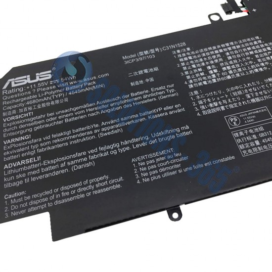 LAPTOP BATTERY FOR ASUS C31N1528
