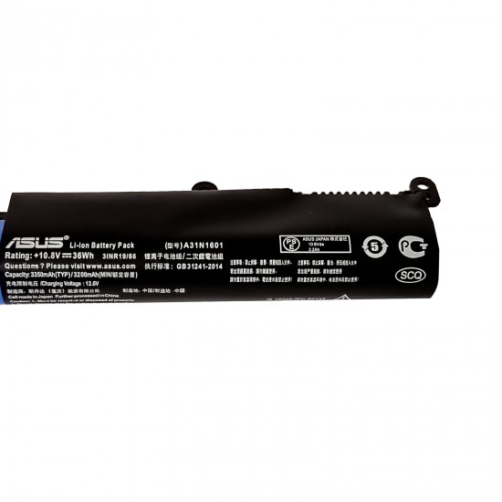 LAPTOP BATTERY FOR ASUS X541