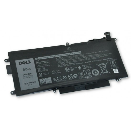 LAPTOP BATTERY FOR DELL 6CYH6/725KY/ K5XWW/  5285   60WH