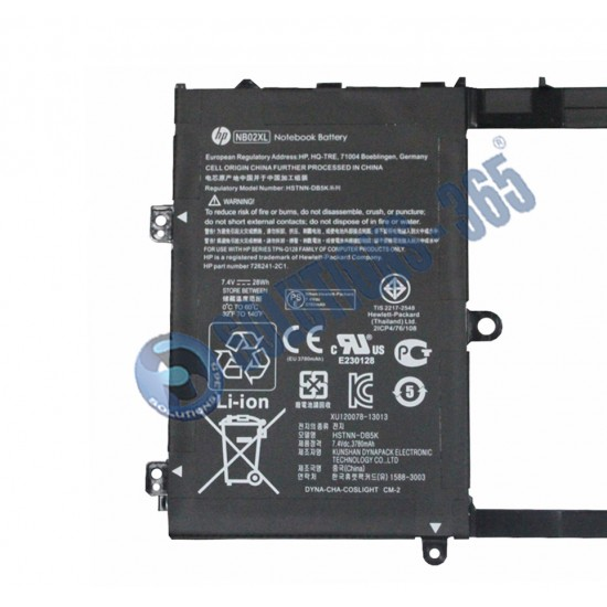 Buy Laptop Battery HP NB02XL / X2 11-H online