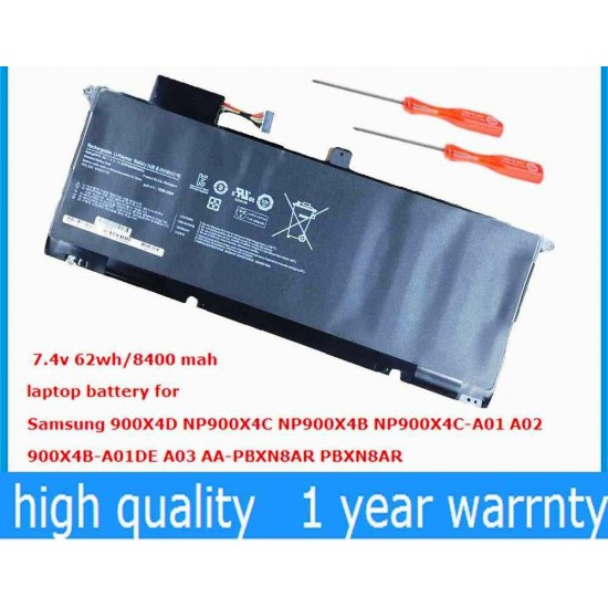 LAPTOP BATTERY FOR SAMSUNG NP900X4B(AA-PBXN8AR)