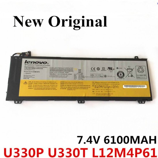 LAPTOP BATTERY FOR LENOVO U330P/ L12M4P61