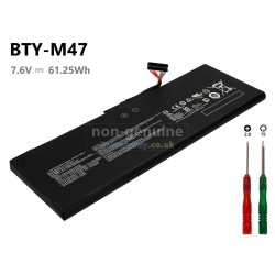 LAPTOP BATTERY FOR MSI BTY-M47