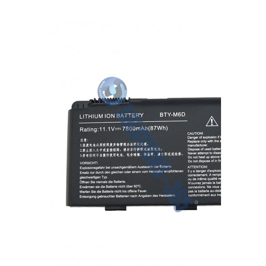 LAPTOP BATTERY FOR MSI BTY-M6D