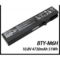 LAPTOP BATTERY FOR MSI BTY-M6H