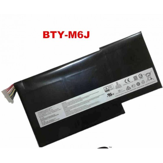 LAPTOP BATTERY FOR MSI BTY-M6J