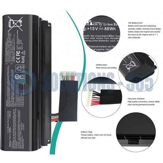 LAPTOP BATTERY FOR ASUS ROG GFX71JY/ A42N1403 A42LM93