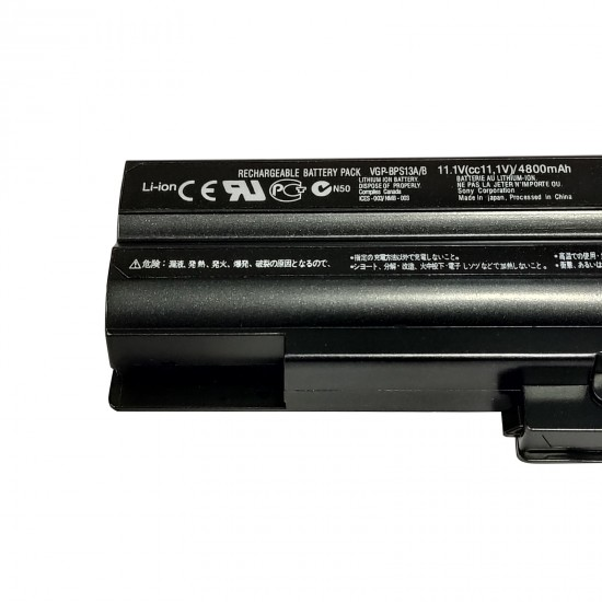 Buy SONY Laptop Battery BPS13 BLACK Compatible online