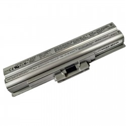 LAPTOP BATTERY FOR SONY BPS13 SILVER COMPATIBLE