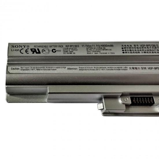 Buy SONY Laptop Battery BPS13 Silver Original online