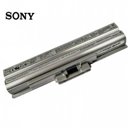 LAPTOP BATTERY FOR SONY BPS13 SILVER ORIGINAL