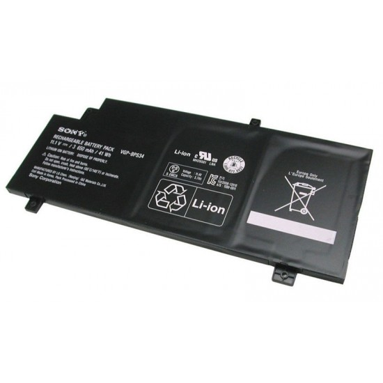 Buy Laptop Battery Sony BPS34 Black Original Online