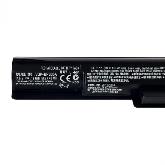 Buy Laptop Battery SONY BPS35 Compatible Online