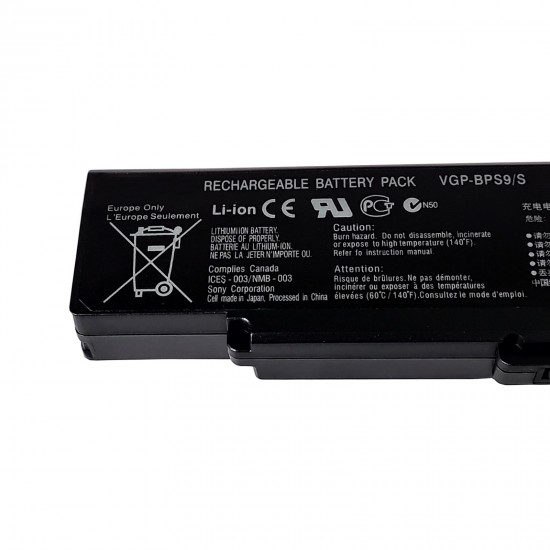 Buy Sony BPS9 Black Compatible Laptop Battery online