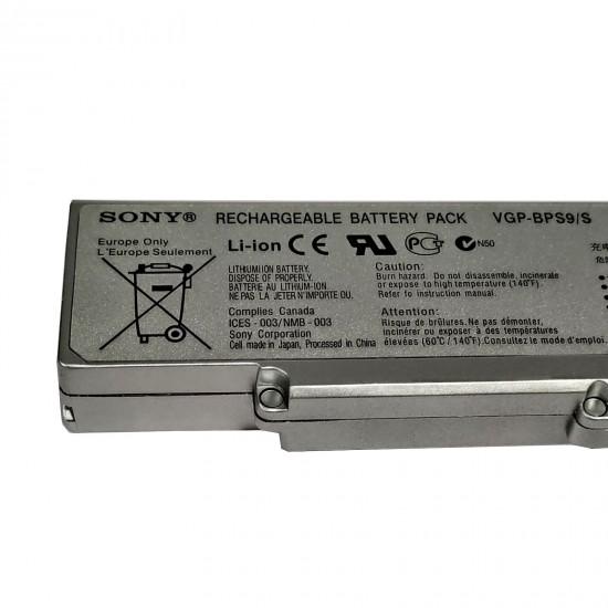 Buy Sony BPS9 SILVER ORIGINAL Laptop Battery online