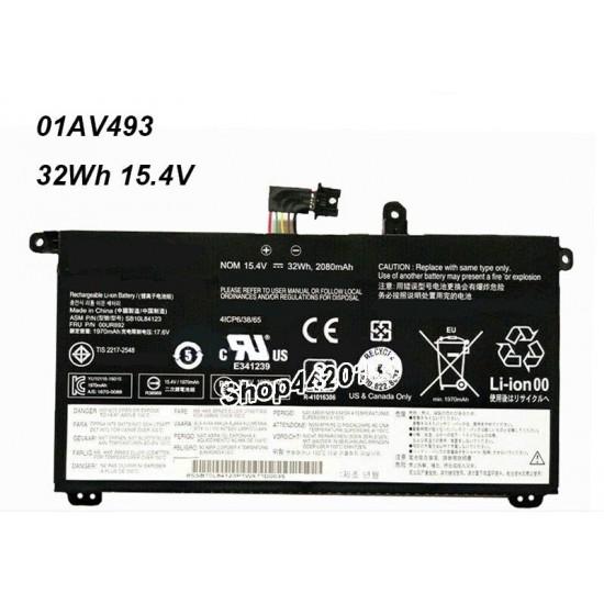 Buy Lenovo 01AV493 00UR890 00UR891 00UR892 T570 T580 P51S P52S Laptop Battery online