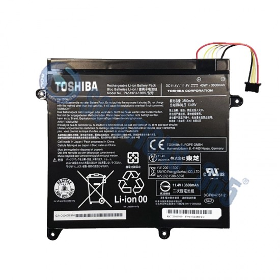 Buy Toshiba Laptop Battery PA5137U Online