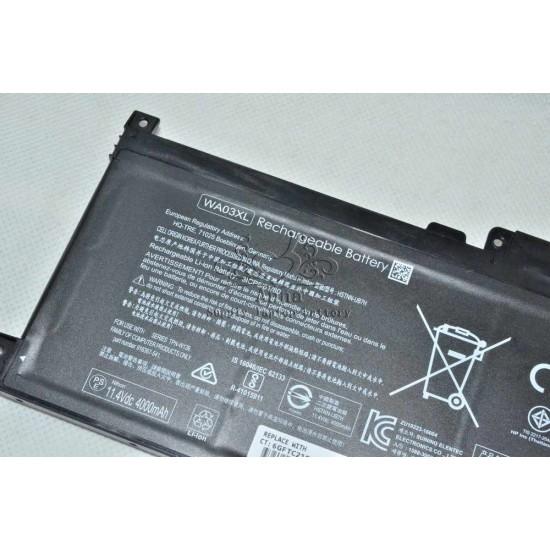 LAPTOP BATTERY FOR HP WA03XL